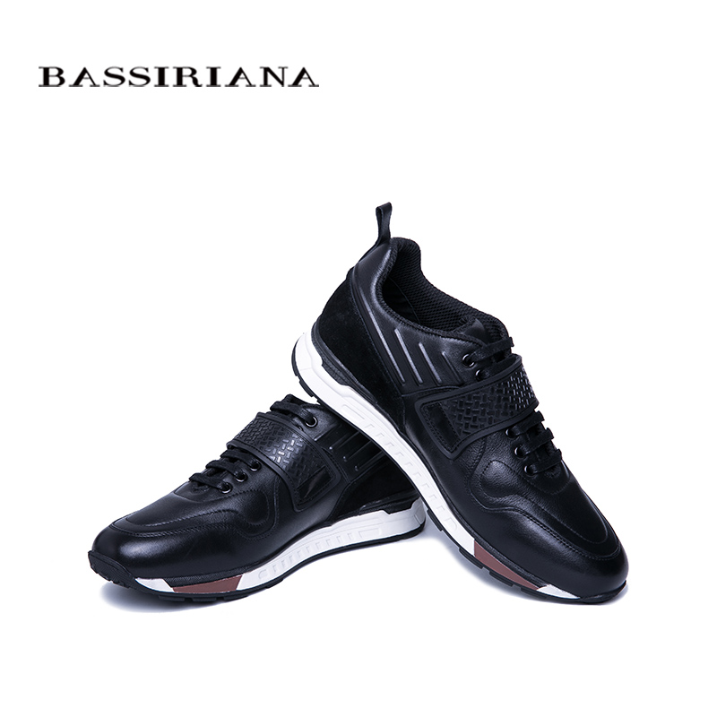 Y Bassiriana Primavera Zapatos Planos 39 Hombres Transpirables blue Tamaño Natural Otoño Cómodas 2019 Black Casuales Cuero Zapatillas Para Los Deporte De Hombres 45 qrEHrT0t