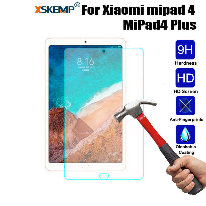 Protective Guard Tempered Glass Tablet Screen Protector Glossy Film For Xiaomi Mi Max 2 Max2 6.44 Mi Pad 4 8.0 MiPad4 Plus