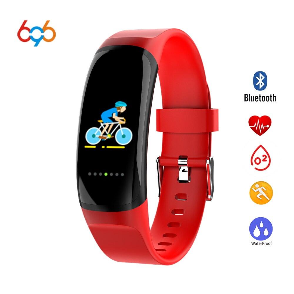 Smart Electronics Candid 696 Mk04 Smart Bracelet Waterproof Heartrate Blood Pressure Sleep Monitor Band Sport Wristband Fitness Tracker Watch Pulse Meter