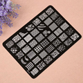Nail Stamping Printing Plate Image Stamps Plate Nail Art Decor Manicure