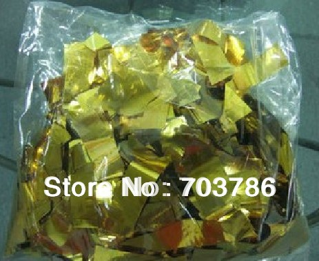 1KG/Bag Confetti Machine Paper,Gold Paper For Rainbow Machine Stage Light ,looks nice confetti machine and confetti cannon1KG/Bag Confetti Machine Paper,Gold Paper For Rainbow Machine Stage Light ,looks nice confetti machine and confetti cannon