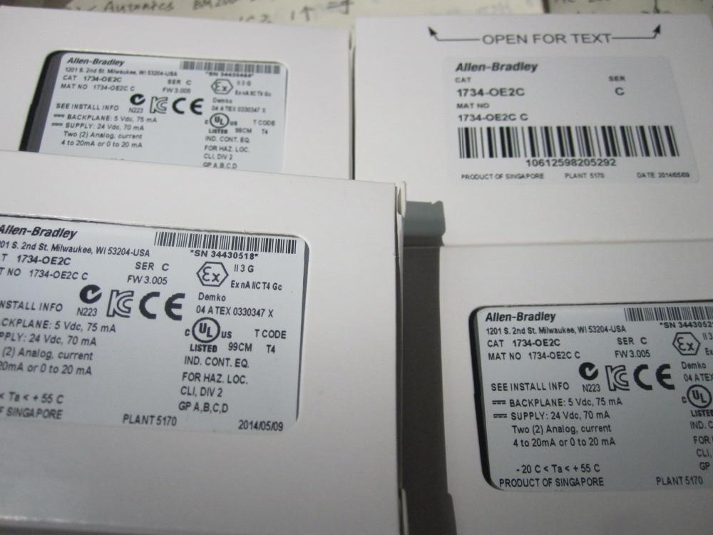 1734-OB2E  brand new and original no x 1734