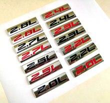 Энергетическая Эмблема для AUDI, Skoda, BMW, CHEVROLET, FORD, HYUNDAI, KIA, MAZDA, NISSAN, 2.0L, 2.2L, 2.3L, 2.4L, 2.5L, 2.7L, 2.8L