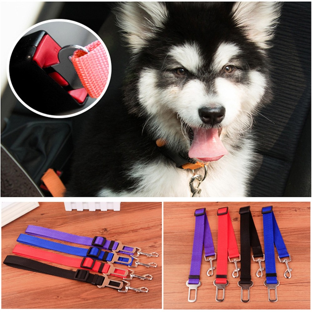 Newest!!!  Pet/dog Car Travel Safety Seat Belt Clip Lead Adjustable Safety Harness Auto Traction #2