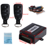 Universal Car Remote Control Alarm Keyless Entry System Anti Theft Door Lock Vehicle Keyless System Car