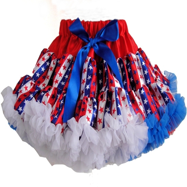 Baby girls spring version of the pastoral style floral skirt bow lace tutu skirts children's clothing Princess skirt PETS-125