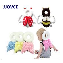 Baby Cute pillow Head protection pad Angel wings protect neck drop resistance cushion kids headrest
