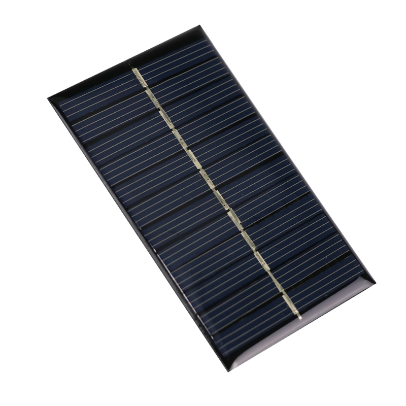 ANBES Solar Panel 6V 0.66W 90x55mm Mini Monocrystalline Polycrystalline PV Module Cell Charges Portable Solar Panel