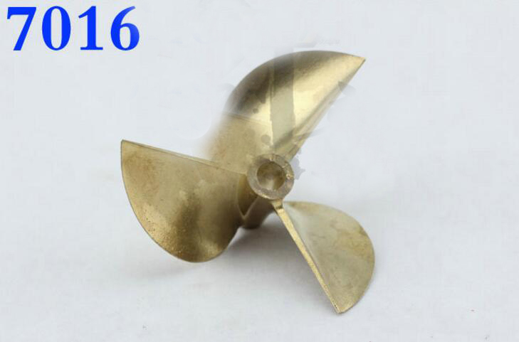 3 blade 7016 Copper Propeller for RC Racing O yacht TFL Gasoline boat 70mm free shipping beryllium copper 3 blades boat paddle propellers fit for rc 26cc 30cc gasoline boat racing boat diameter 67mm 70mm