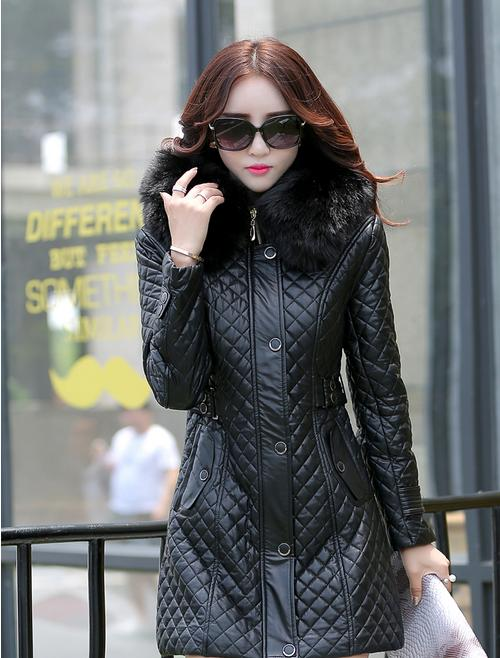 Long Leather Jackets For Women - Jacket