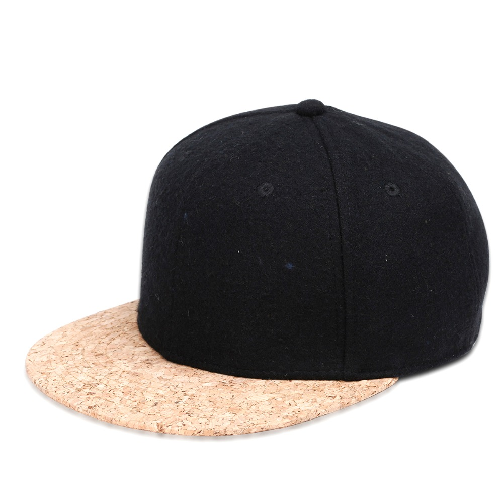 unique baseball cap with a cork peak for men and women