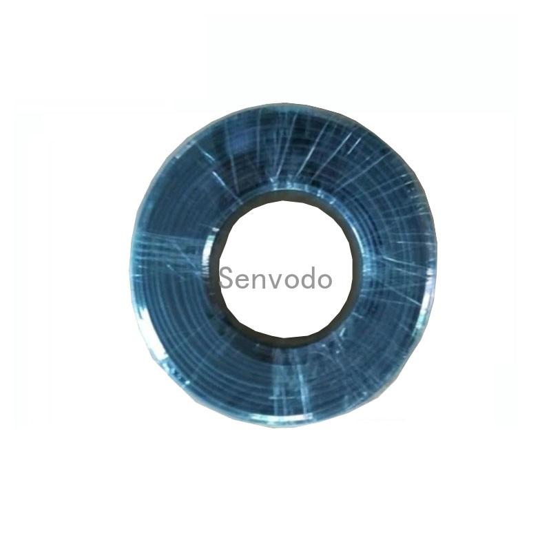 100mX gros noir PMMA fin lueur fibre optique câble diamètre intérieur diamètre 1mm/2mm/3mm/5mm/6mm/8mm express livraison gratuite