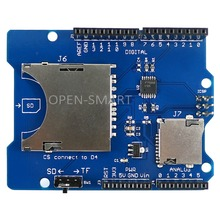 SD Carte Bouclier SD Carte Lire et Écrire module MicroSD/TF Carte Carte D'extension pour Arduino