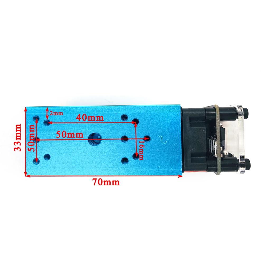 2.5 w3.5w.5.5w 450nm 33mm com foco módulo