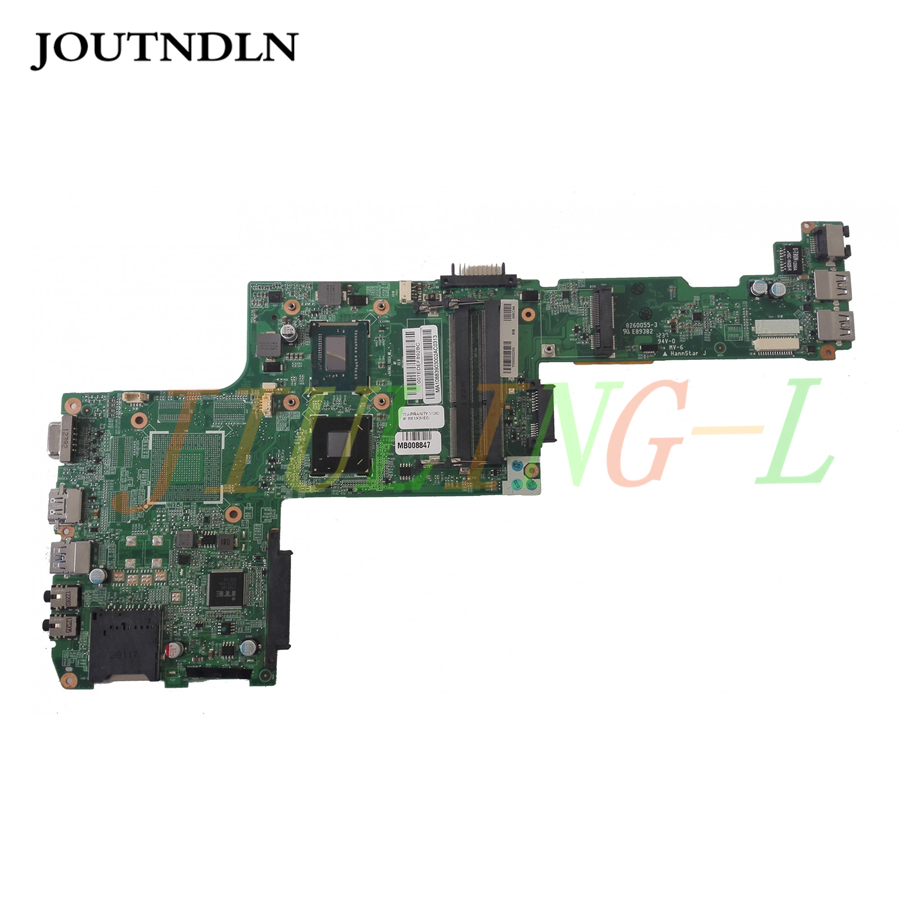 JOUTNDLN FOR Toshiba P840 P845 laptop motherboard Y000001500 i5-3317u HM76 GMA HD4000 DDR3