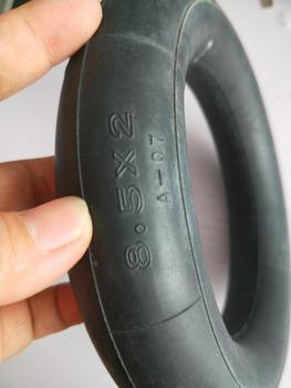 8-1 2 #8222 x 2 #8221 (8 5 #215 2) wewnętrzna rura trye koła opony do gazu skuter elektryczny skuter dla dzieci gaz skuter elektryczny wózek spacerowy tanie i dobre opinie 8 1 2x2(50-134) scxjwt rubber +alloy 8inch 1inch Felgi 0 9kg