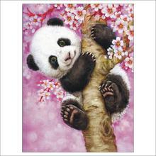 5d diy Алмазная картина панда Вышивка крестом вышивка квадратные