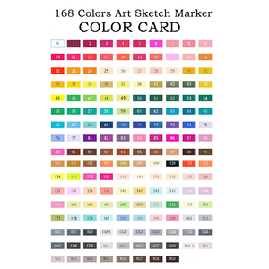 Image 5 - TOUCHNEW 80 Color Professional Art Markers Set Sketch Markers Dual Headed Paint Manga Graffiti Pen Drawing Art Supplies