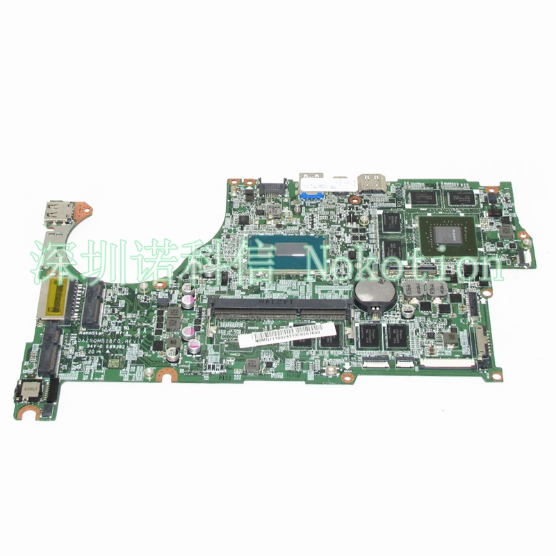 NOKOTION NBMQ711002 NB.MQ711.002 Laptop Motherboard For acer aspire V5-573 V5-573G GeForce GT850M i5-4210U CPU DAZRQMB18F0 REV F laptop motherboard for acer aspire 4743 4743g hm55 geforce gt540m mb rfh01 002 mbrfh01002 je43 cp mb 48 4ni01 02m mainboard