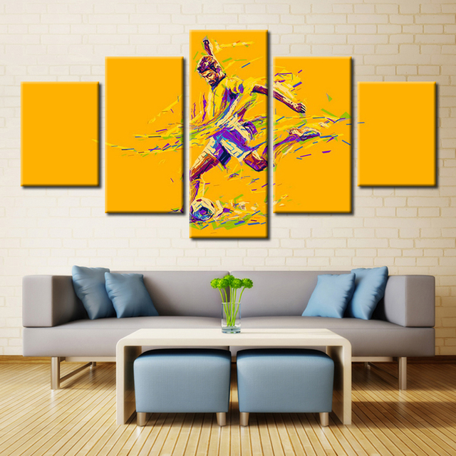 Sport Cartoon Poster Tennis Canvas Painting for Bedroom Wall Art ...