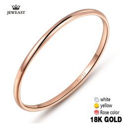 18k Gold Women Rings Beautiful Exquisite Smooth Classic Real 750 Solid Rose Yellow Girl Gift Party Discount Good Nice new hot