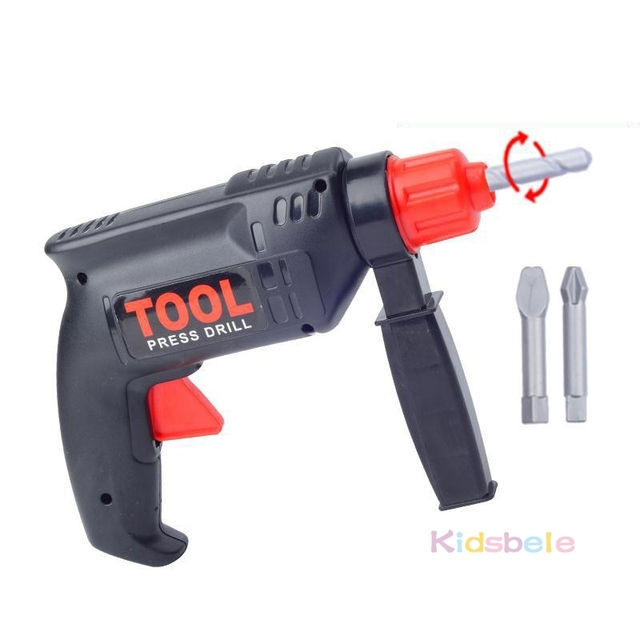 Kids Tool Toys Educational Toys Simulation Repair Tools Toys Drill Plastic Game Learning Engineering Puzzle Toys Gifts For Boy
