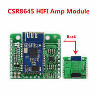 DC 12V/5V CSR8645 APT-X Lossless Music Hifi Bluetooth 4.0 Receiver Board Amplifier Module for Audio Car Amplifier Speaker