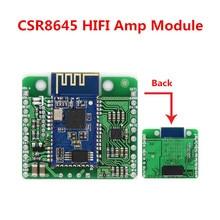 DC 12 V/5 V CSR8645 APT X bezstratna muzyka Hifi Bluetooth 4.0 tablica odbiorcza moduł wzmacniacza dla Audio głośnik wzmacniacz samochodowy