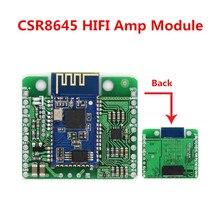 DC 12 V/5 V CSR8645 APT X kayıpsız müzik Hifi Bluetooth 4.0 alıcı kurulu amplifikatör modülü ses araba amplifikatör hoparlör
