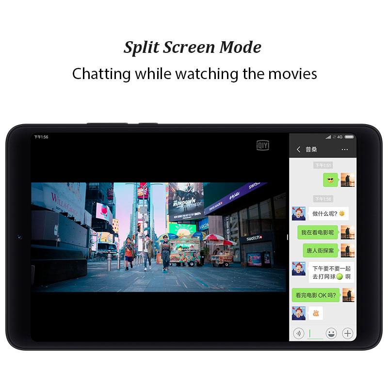 """Image 3 - Xiaomi Mi Pad 4 OTG LTE/WiFi MiPad 4 Tablets 8"""" PC Snapdragon 660 Octa Core 64G 1920 x 1200px 13.0MP+5.0MP Cam 4G Tablet-in Tablets from Computer & Office"""