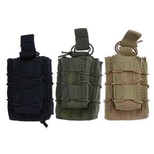Outdoor Sports Tactical MOLLE Accessories Package Two Linked Bag