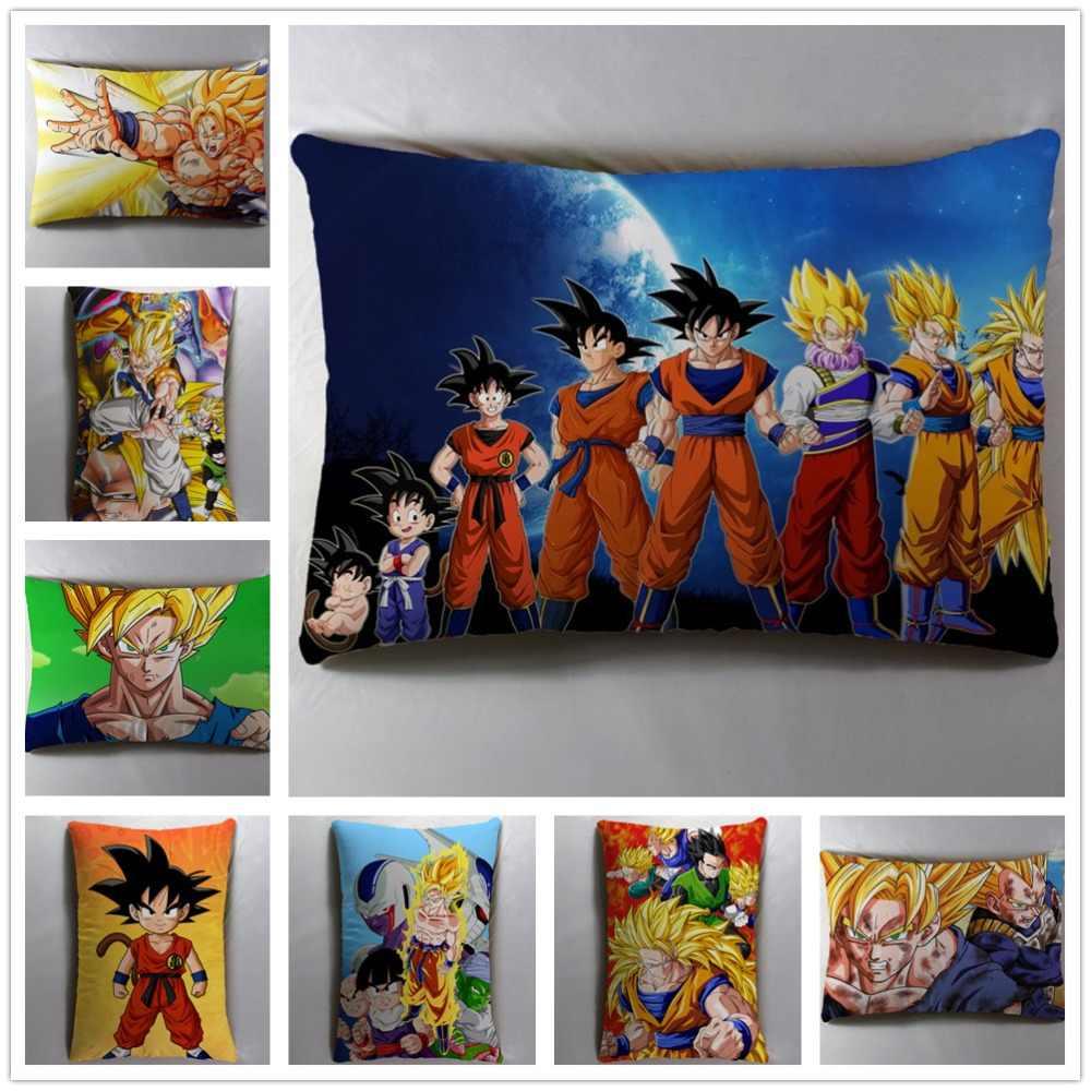 Аниме Манга Dragon Ball; Dragonball Z 40*60 см наволочка для подушки сиденья постельные принадлежности Подушка 002