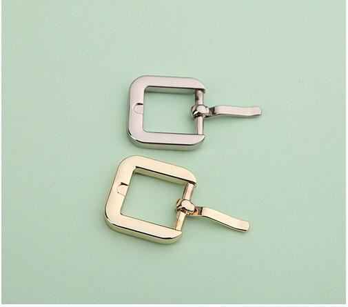 Haute qualité placage 16mm (5 8 ) sangle tendeur de zinc alliage boucle  ardillon accessoire sacs ceintures chaussures vêtement boucle 1c3b6d53c68