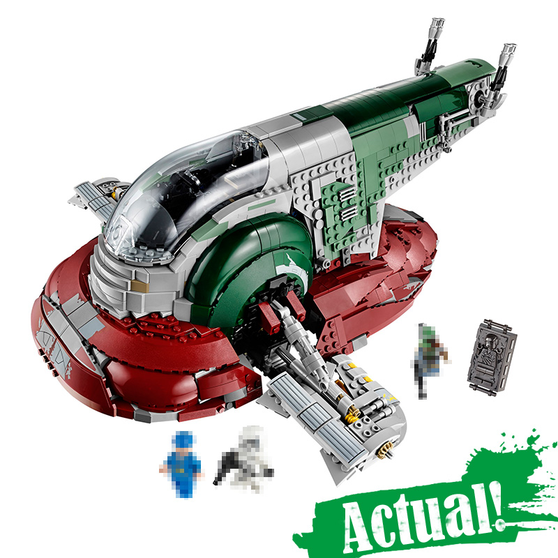 05037 Star 2067pcs Series Wars UCS Slave I Slave NO.1 Model Building lepin Block Bricks Toys Kits Gifts Compatible 75060 lepin 05037 star wars ucs slave i slave no 1 model 2067pcs minifigure building block toys 100