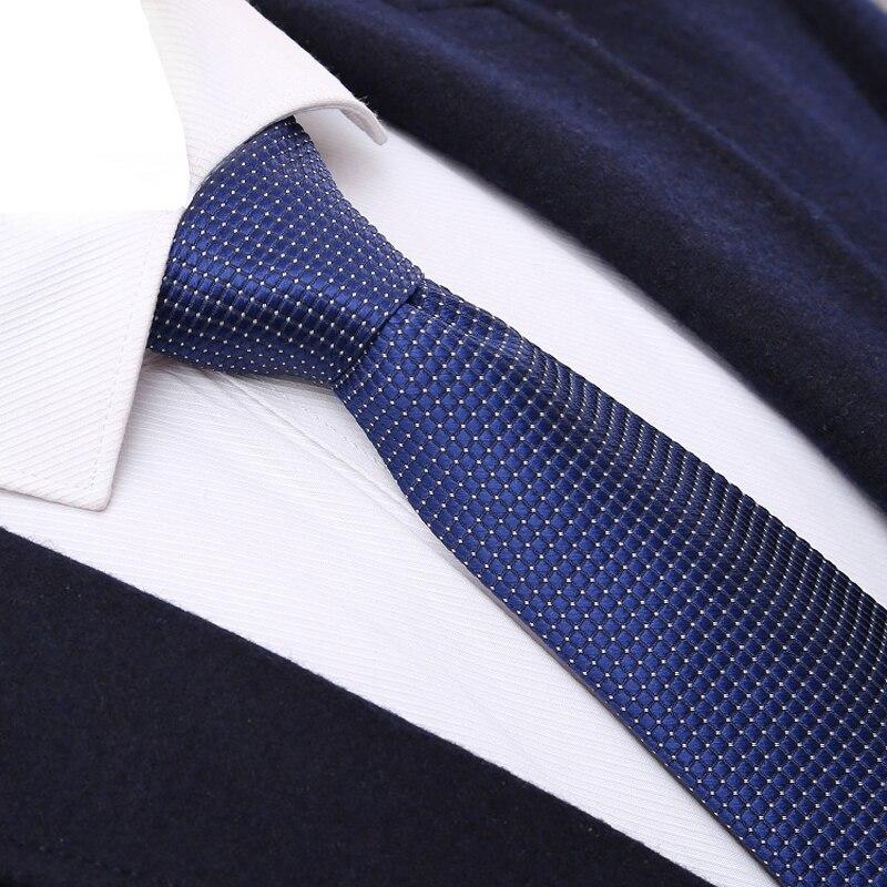 Mens Necktie Fashion Classic Checked 6CM