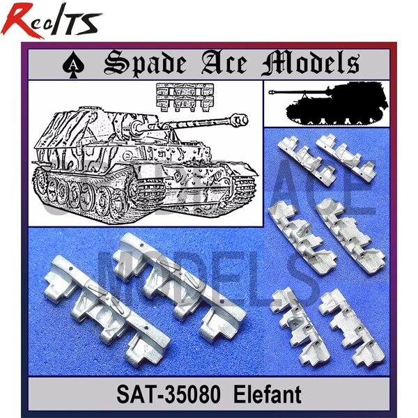 RealTS Spade Ace 1/35 35080 Metal Track Elefant ...