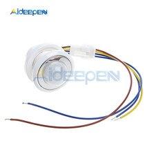 цена на 25mm Motion Sensor Light Switch LED PIR Detector Infrared Motion Sensor Switch Lighting On Off Switch w/Time Delay