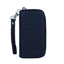 PU Leather Wristlet Cash Clutch Wallet Card Slot Case Cover For iPhone 5 5S 6 6S Plus Phones Series