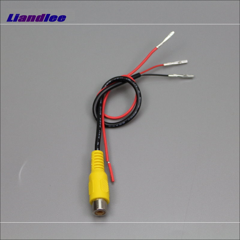 Liandlee Original Video Input Switch RCA Adapter Connector Wire Cable For Honda For CRV For C-RV 2012~2014 Rear View Camera