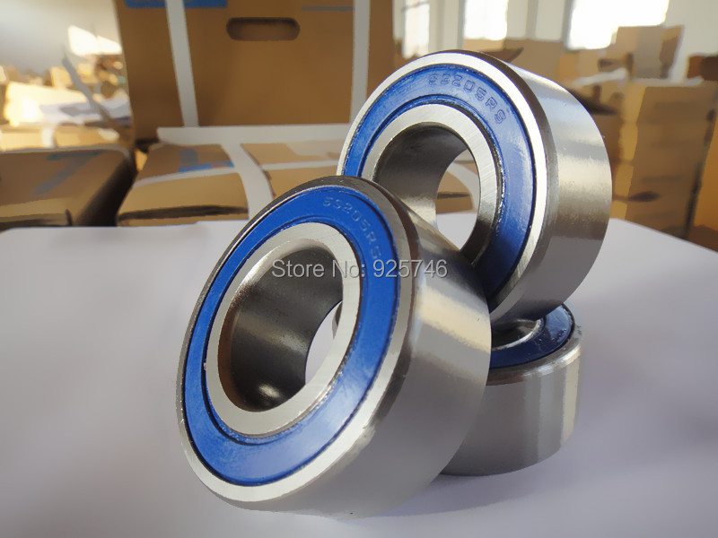s5205 2RS s5205RS s5205-2RS Stainless Steel double row angular contact ball bearings s3205 2RS 25X52X20.6 mm stainless steel angular contact ball bearing 7208 s7208 40x80x18