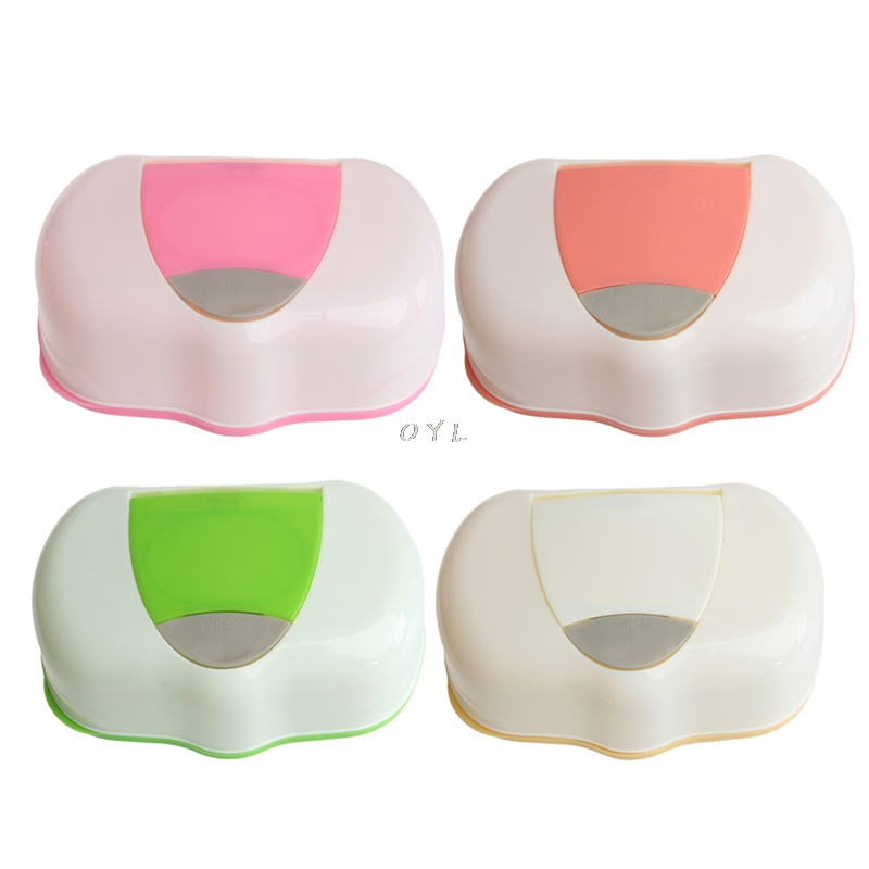 Dry Wet Tissue Paper Case Baby Wipes Napkin Storage Box Plastic Holder Container0Dry Wet Tissue Paper Case Baby Wipes Napkin Storage Box Plastic Holder Container0