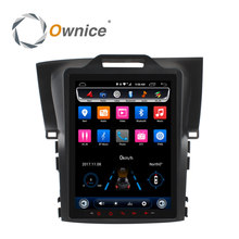 Ownice Tesla style 10.4 Inch 8 Core Android6.0 Car DVD Player for Honda CRV 2012-2016 car GPS navi stereo Radio vedio 32G 2.5D