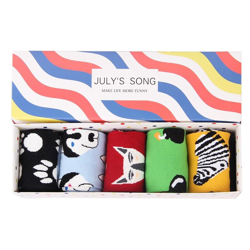 5 Pairs a Lot Happy Socks Colorful Cotton Winter Funny Dress Mens Socks Brand Art Novelty Warm Socks Socken Herren 35 below