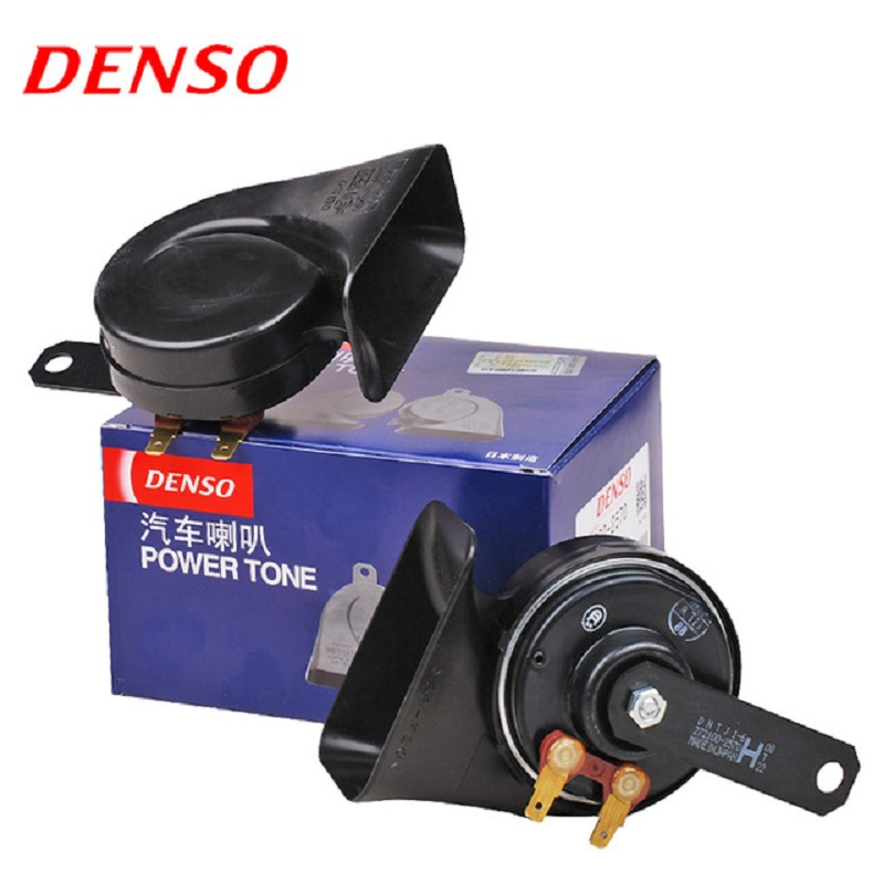 все цены на DENSO Car Claxon Horns Air Horn Waterproof Universal Interface Original Quality 12V loud car klaxon 8650 онлайн