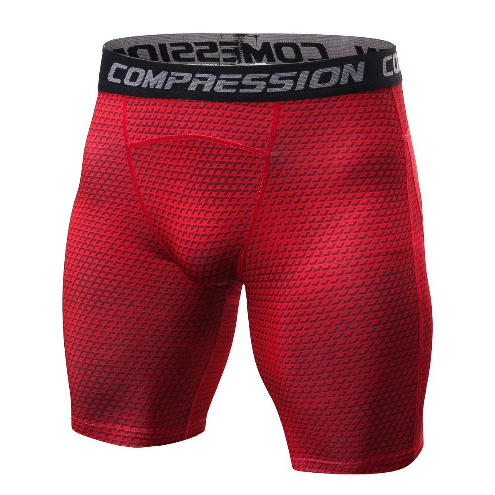 2018 New Style Breathable Men's Compression Shorts MMA Workout Fitness Bottoms Skin Tight Comouflage Short Pants