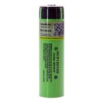 Liitokala Original NCR18650B 3.7V 3400mah 18650 rechargeable lithium battery Suitable for flashlight battery (No PCB)