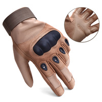 Tactical Military Army Paintball Airsoft Combat Shooting Ciclismo Guantes Motocross Work Hard Knuckle Full Finger Gloves AGB859