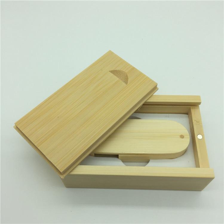 Hot Sale (OVER 10 PCS gratis LOGO) træ USB + boks USB Flash Drive - Ekstern lagring - Foto 5