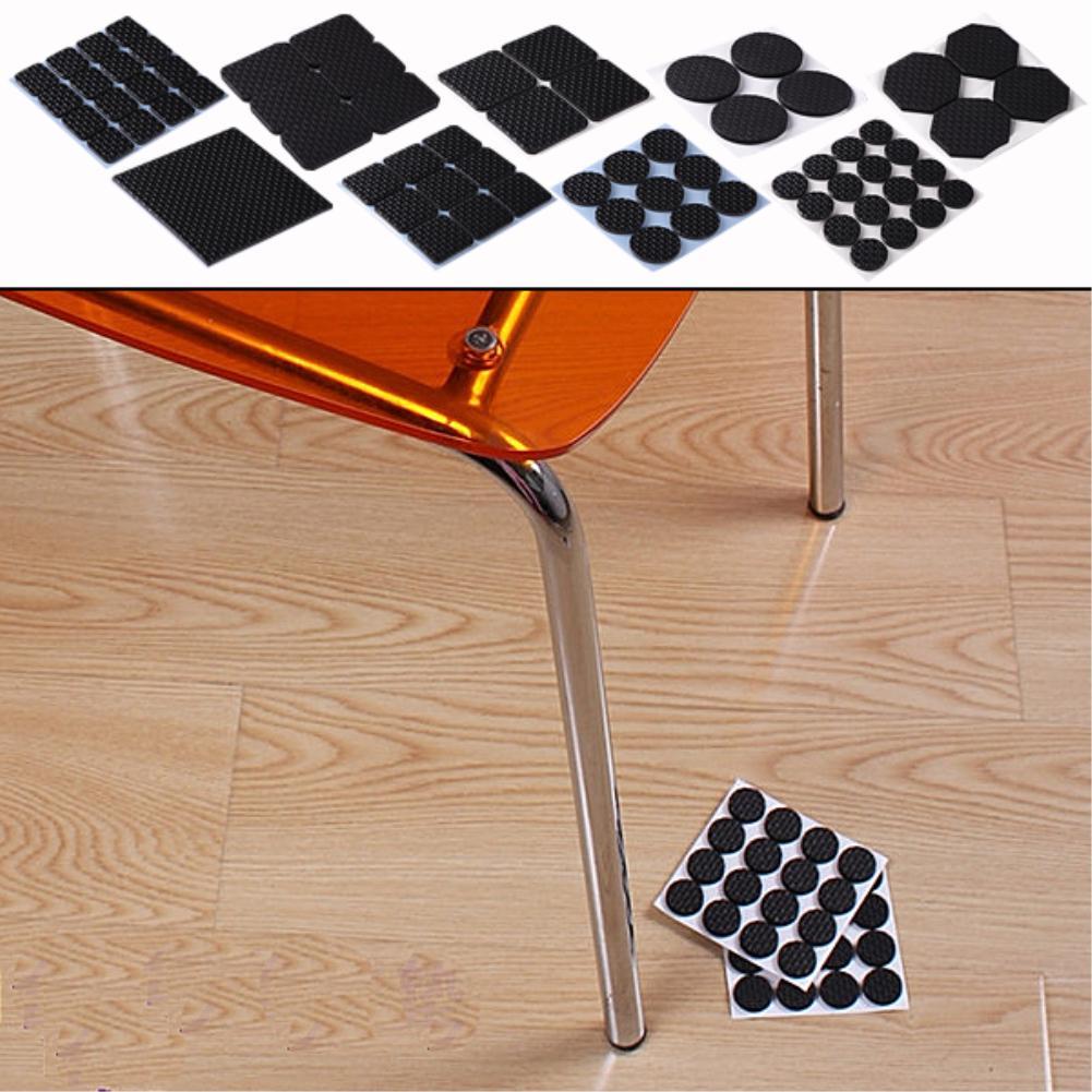 Table Chair Furniture Floor Anti Scratch Protectors Pads Skid Slip Self Adhesive