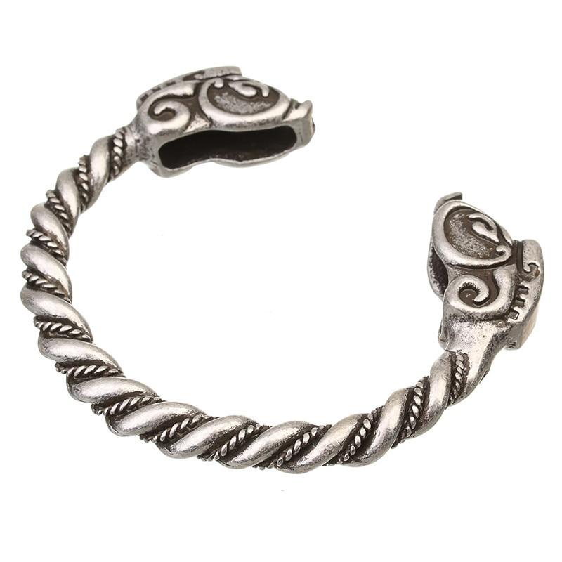 XINYAO Retro Otvoreni Fenrir Zmaj Viking narukvice Bangles za - Modni nakit - Foto 5